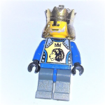 Lego Knights Kingdom II King Mathias 2004 minifigure